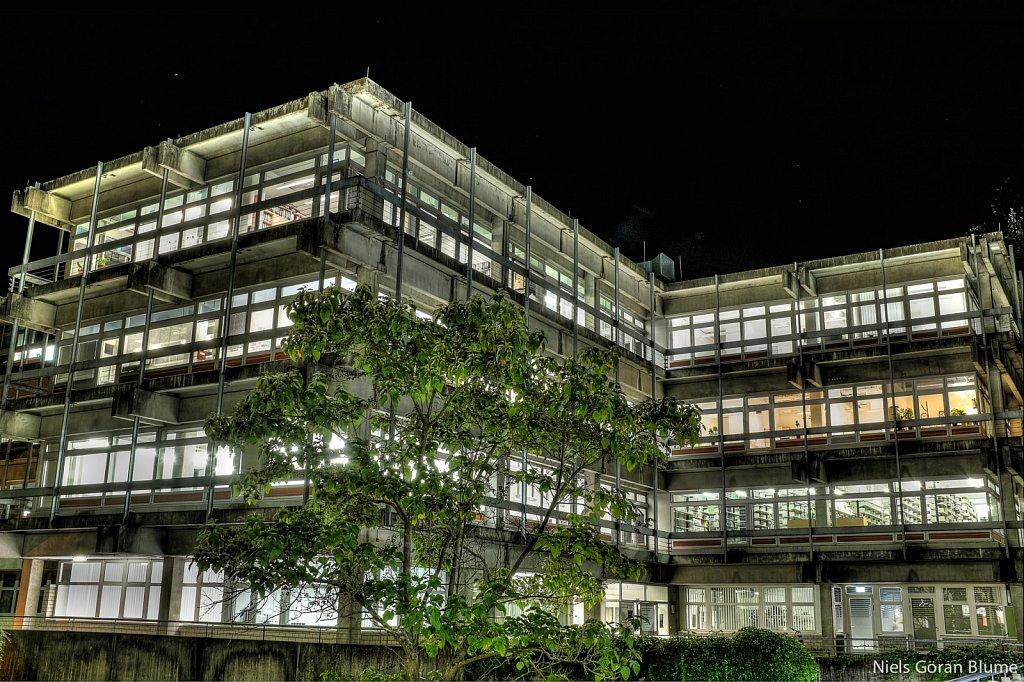 HDR und Langzeichtbelichtungsvariation Architektur-Fotografie