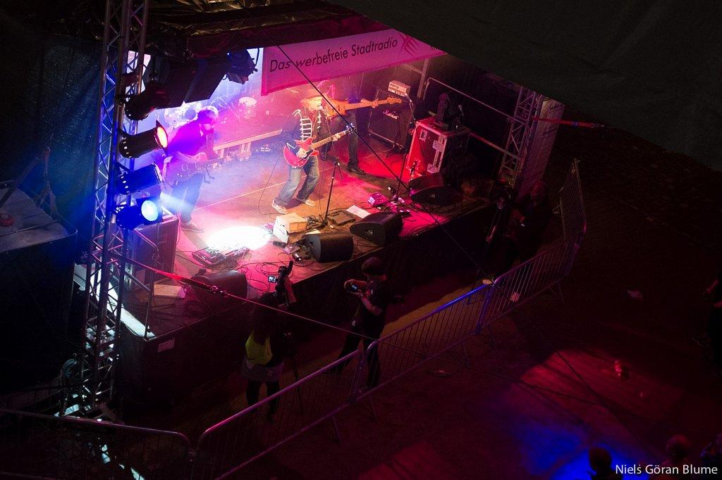 Bühne beim Museumsuferfest