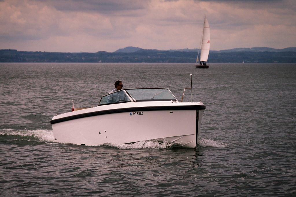 Teilnehmer-Boot der Ultramarin Bootshow