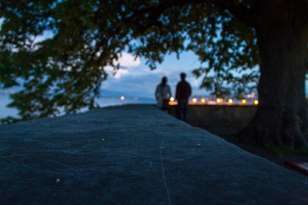 Blick von der Befestigungsanlage Lindau