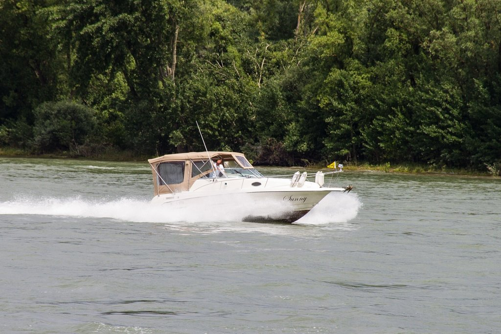 Wochenendausfahrt mit dem Boot